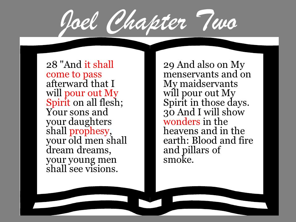 Joel Chapter Two