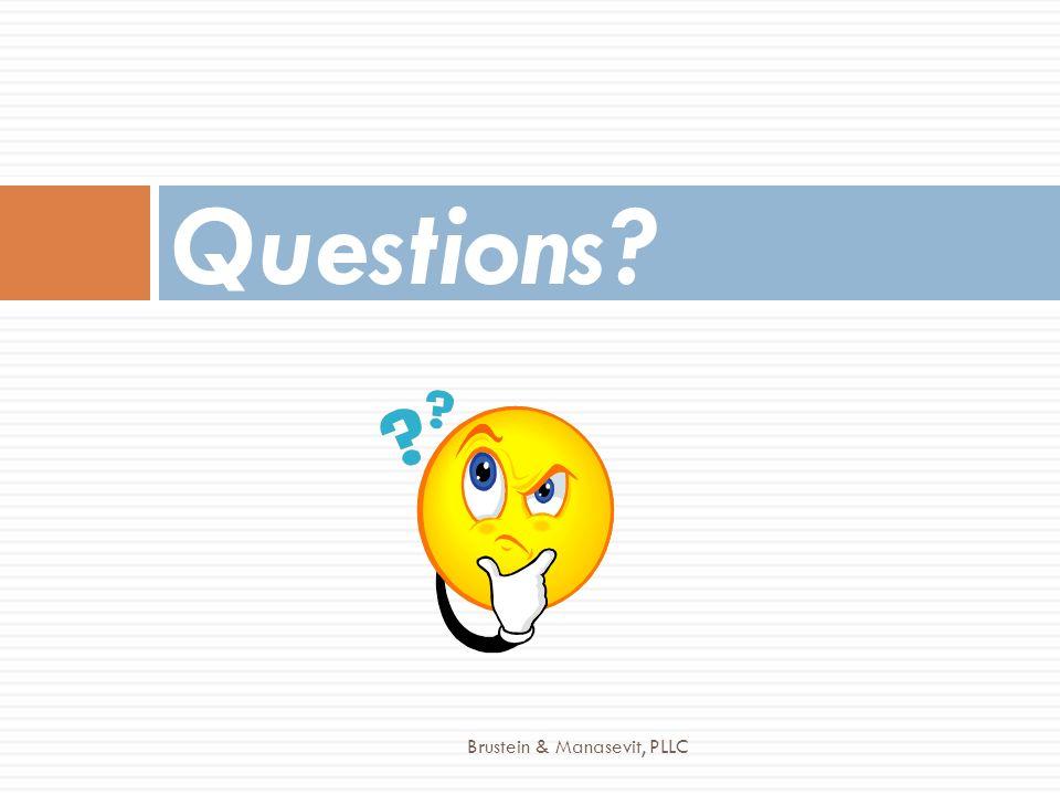 Questions Brustein & Manasevit, PLLC