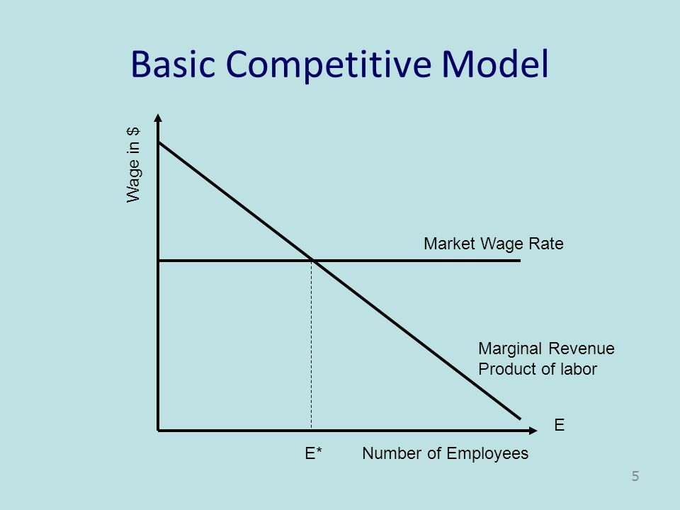 Basic Competitive Model
