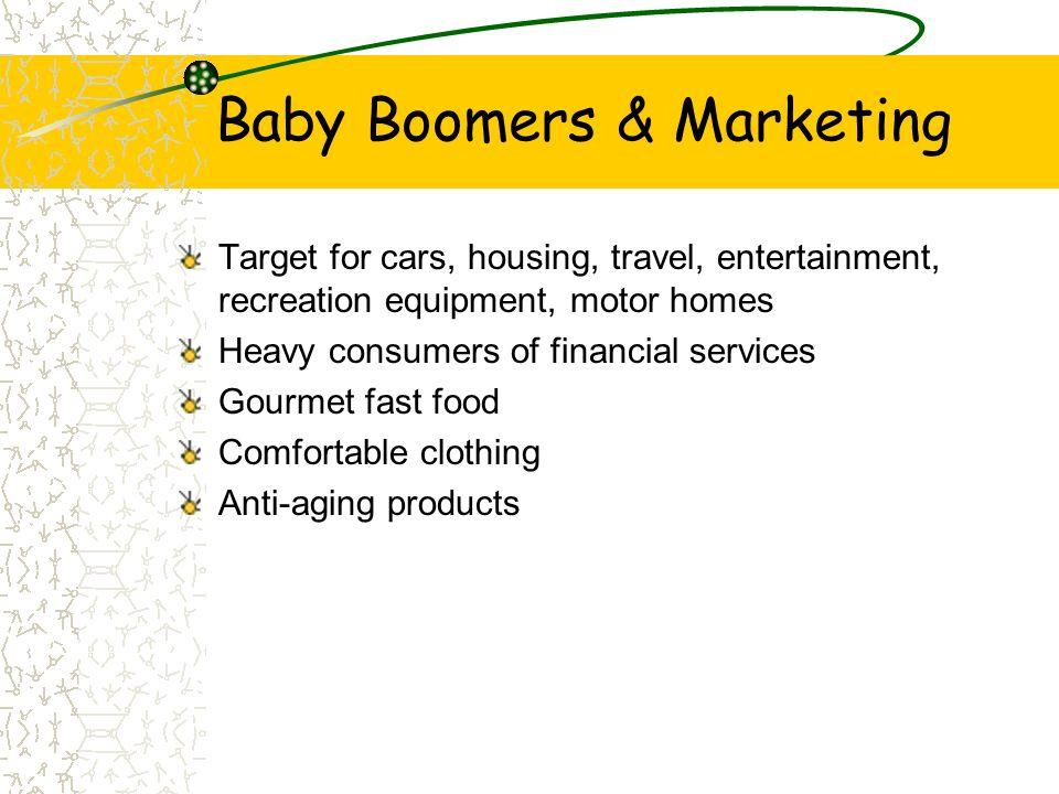 Baby Boomers & Marketing