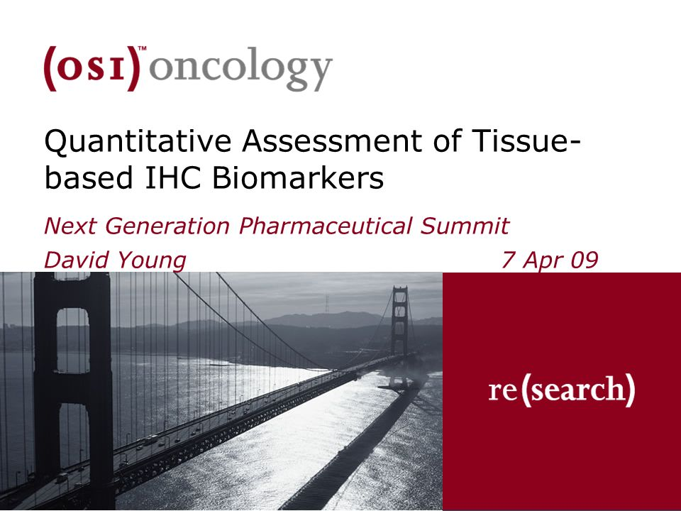 Quantitative Assessment of Tissue-based IHC Biomarkers