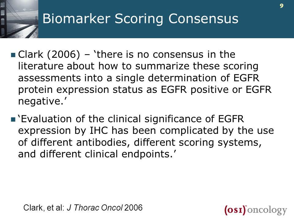 Biomarker Scoring Consensus