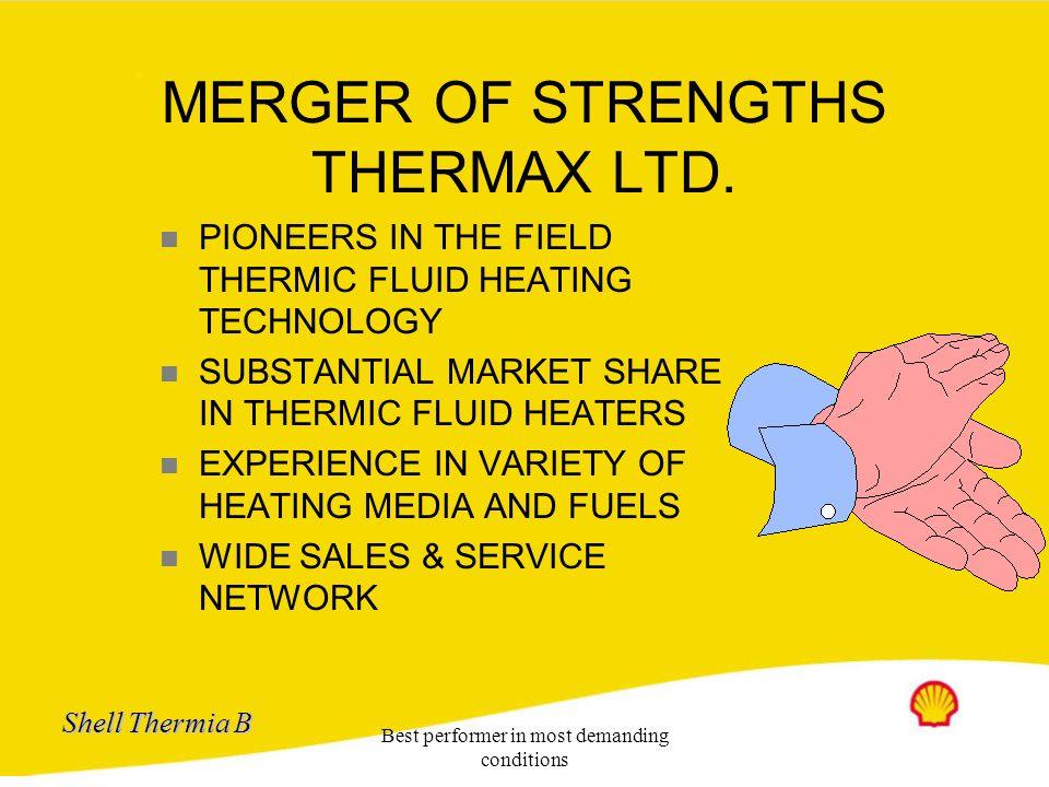 MERGER OF STRENGTHS THERMAX LTD.