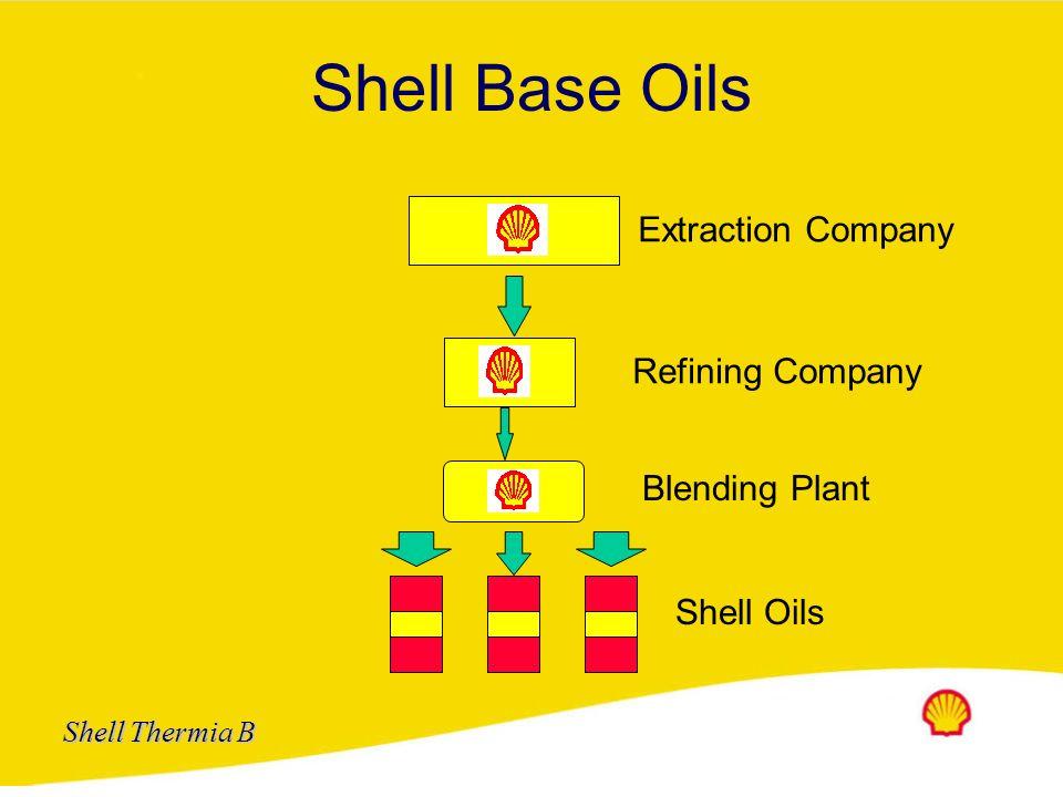 Shell Base Oils Extraction Company Refining Company Blending Plant