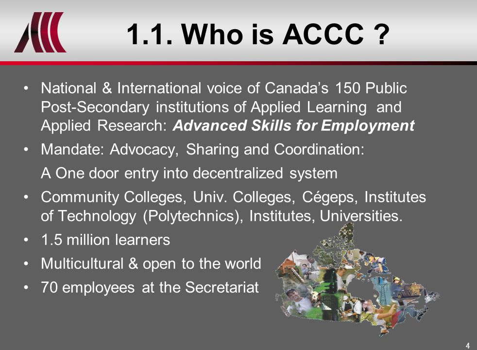 1.1. Who is ACCC