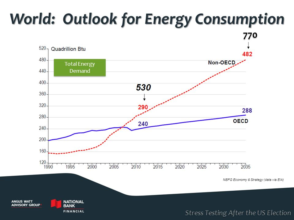World: Outlook for Energy Consumption