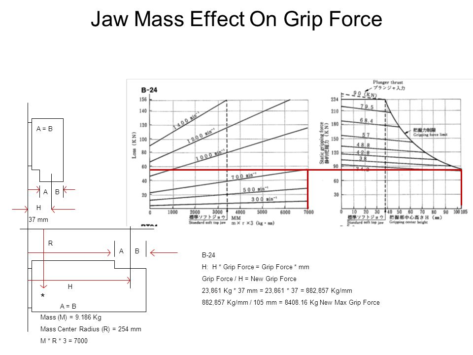 Jaw Mass Effect On Grip Force