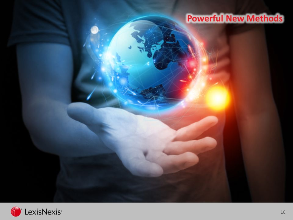 Powerful New Methods There are powerful and new methods of digital document search that can save hours of wasted time.