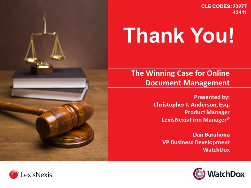 The Winning Case for Online Document Management