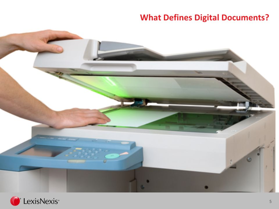 What Defines Digital Documents