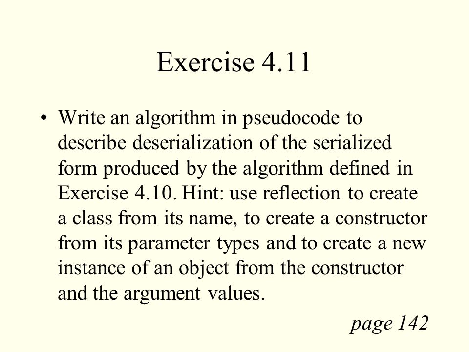 Exercise 4.11