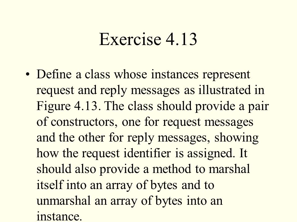 Exercise 4.13