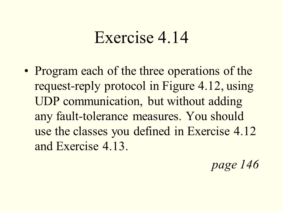 Exercise 4.14