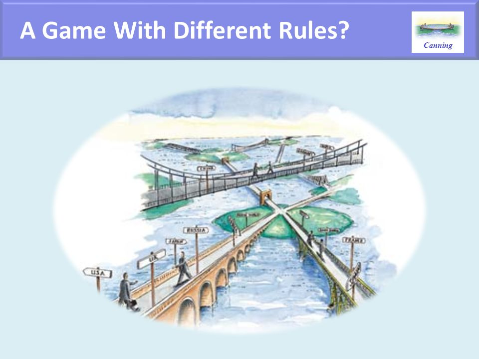 A Game With Different Rules