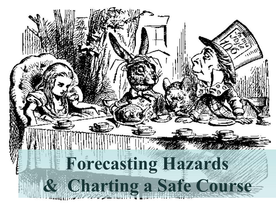 Forecasting Hazards & Charting a Safe Course