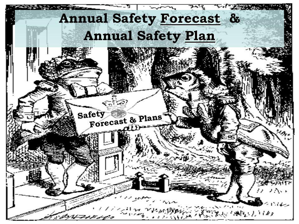 Annual Safety Forecast &