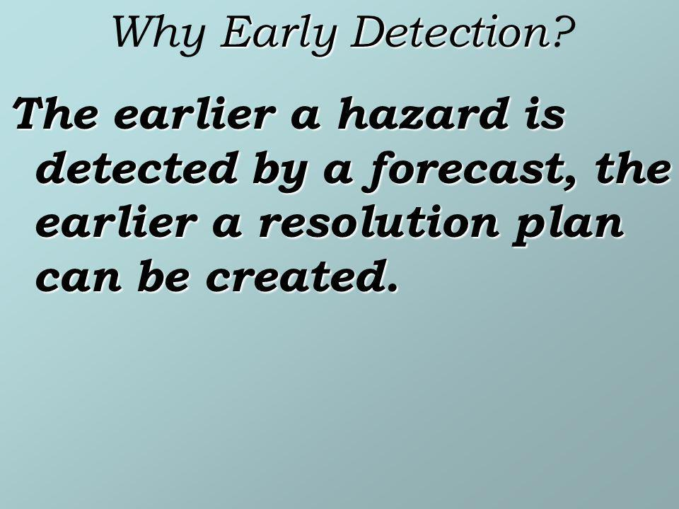 Why Early Detection.