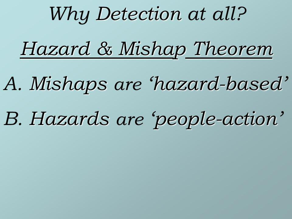 Hazard & Mishap Theorem
