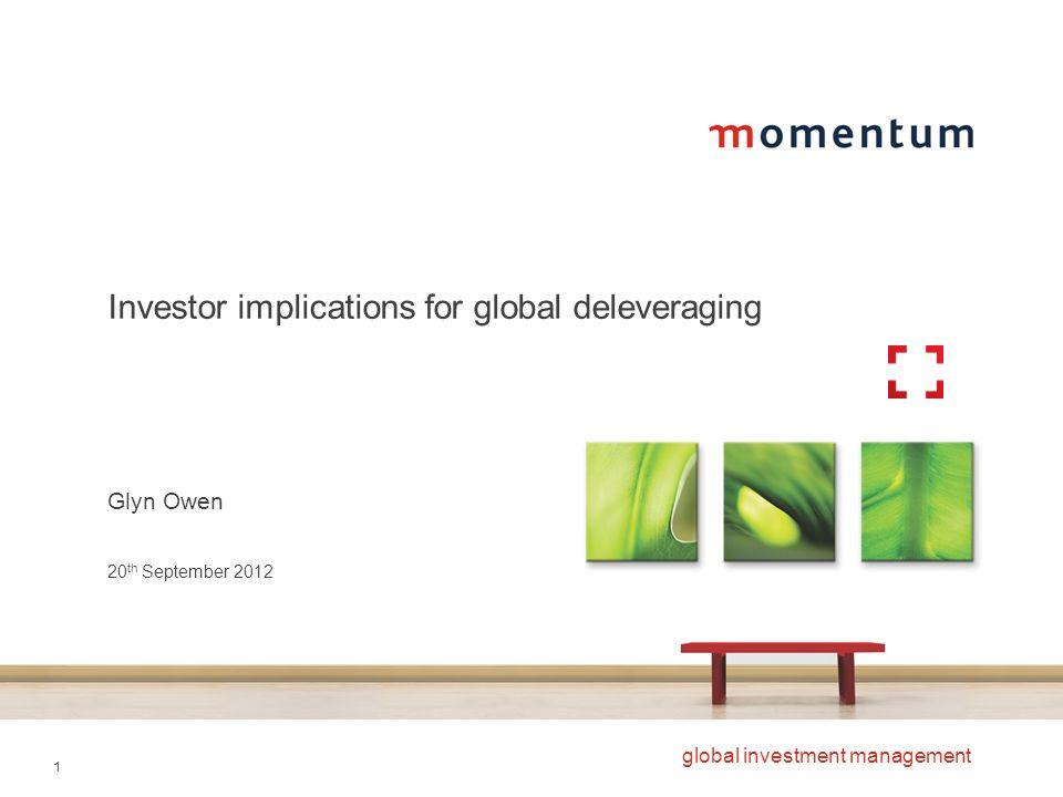 Investor implications for global deleveraging