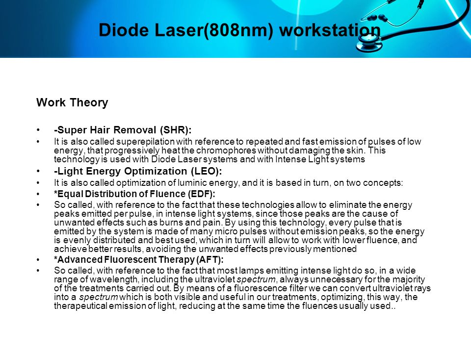 Diode Laser(808nm) workstation