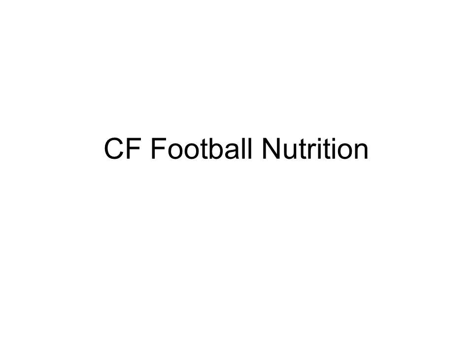 CF Football Nutrition