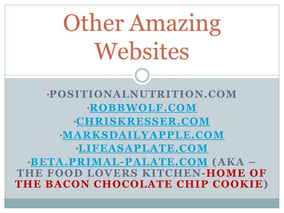 Other Amazing Websites