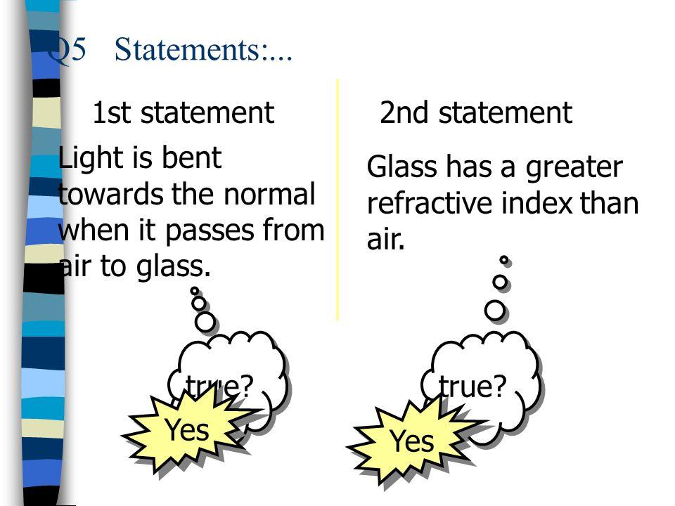 1st statement 2nd statement