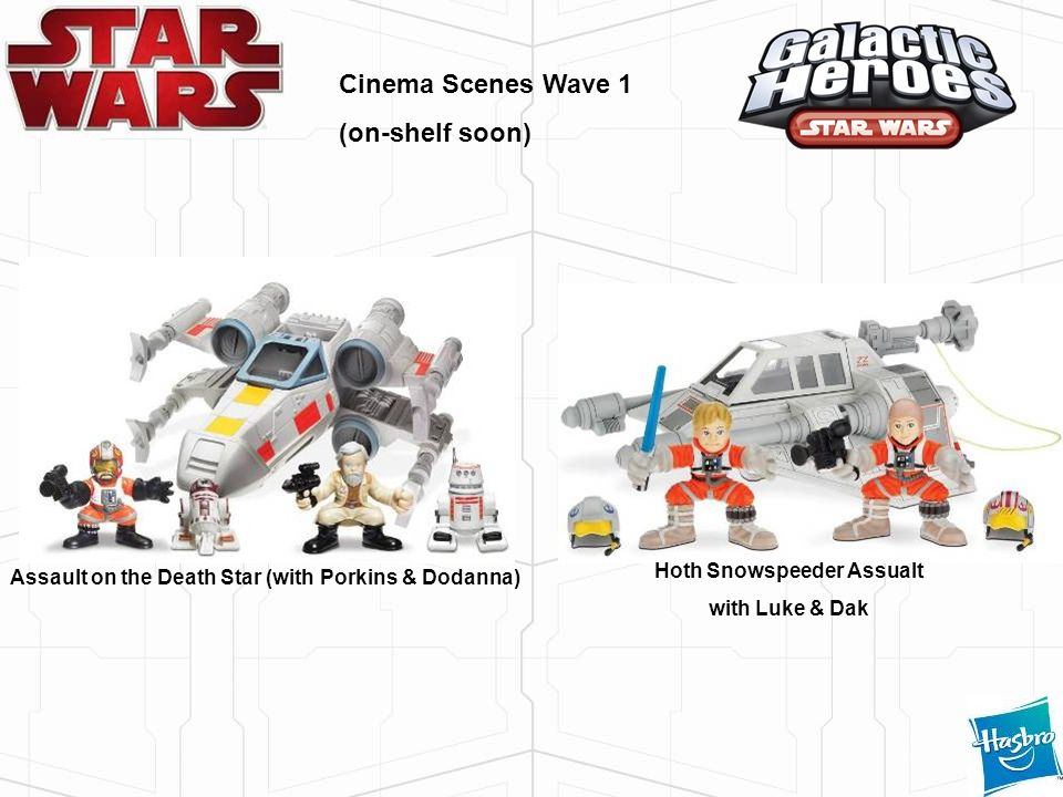 Cinema Scenes Wave 1 (on-shelf soon) Hoth Snowspeeder Assualt