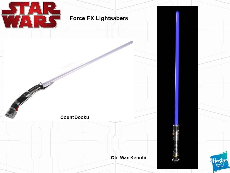 Force FX Lightsabers Count Dooku Obi-Wan Kenobi