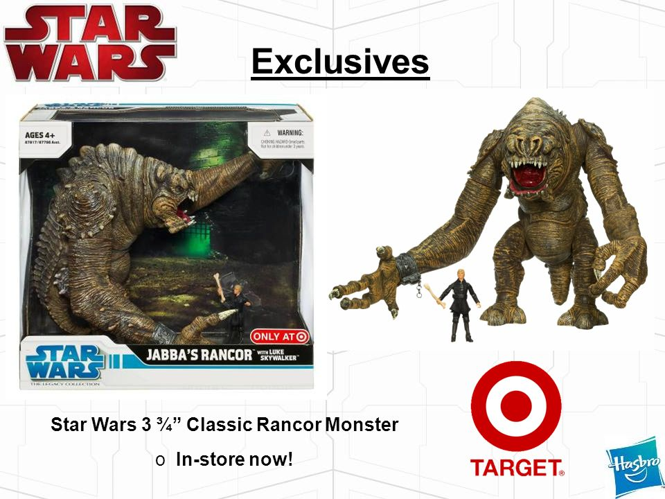 Star Wars 3 ¾ Classic Rancor Monster