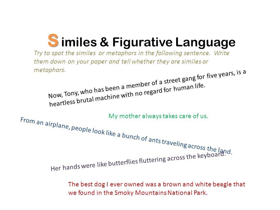 S imiles & Figurative Language