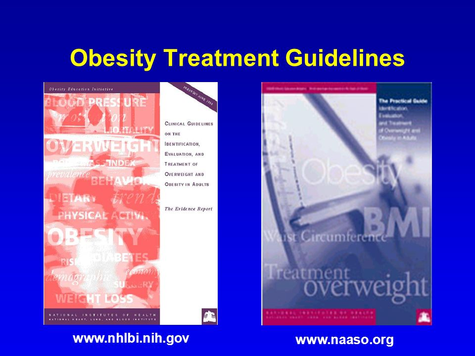 Obesity Treatment Guidelines