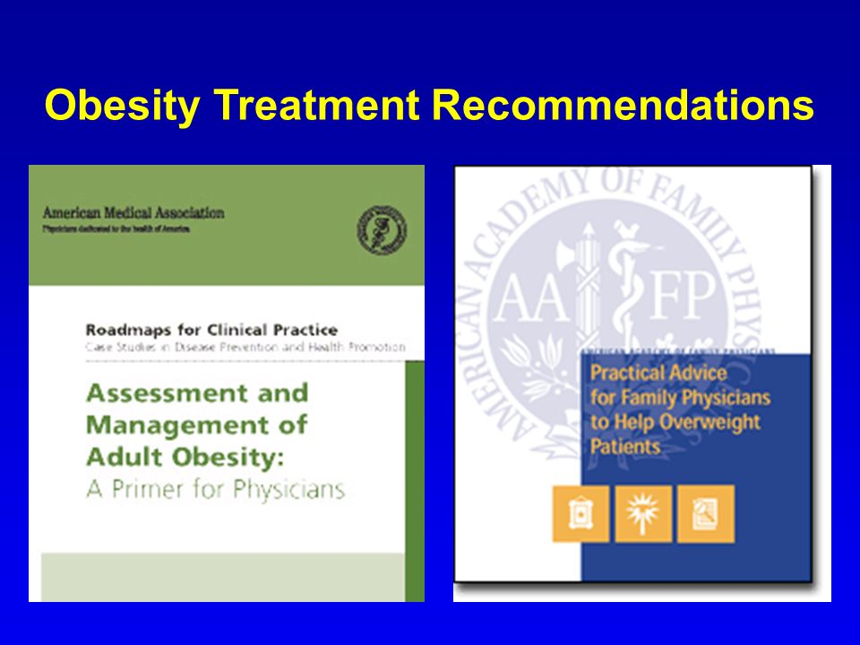 Obesity Treatment Recommendations