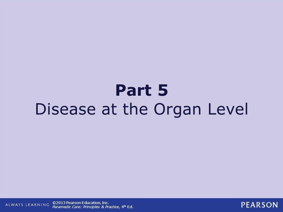 Part 5 Disease at the Organ Level