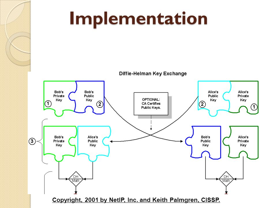 Implementation Copyright, 2001 by NetIP, Inc. and Keith Palmgren, CISSP.