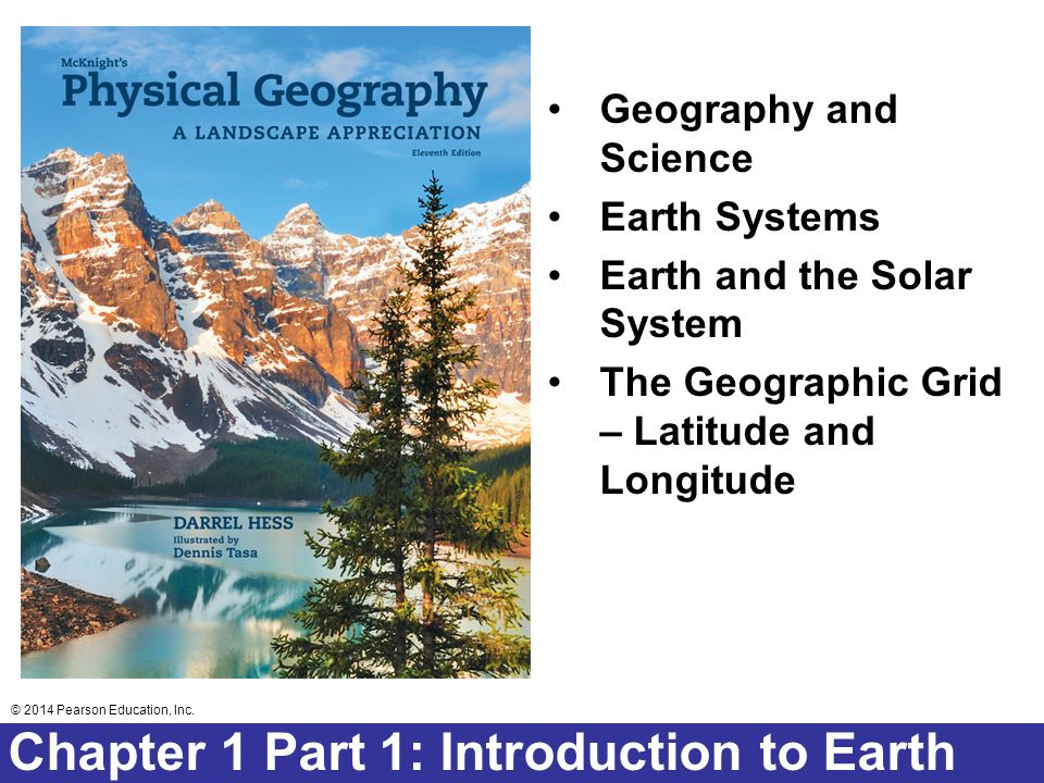 Chapter 1 Part 1: Introduction to Earth