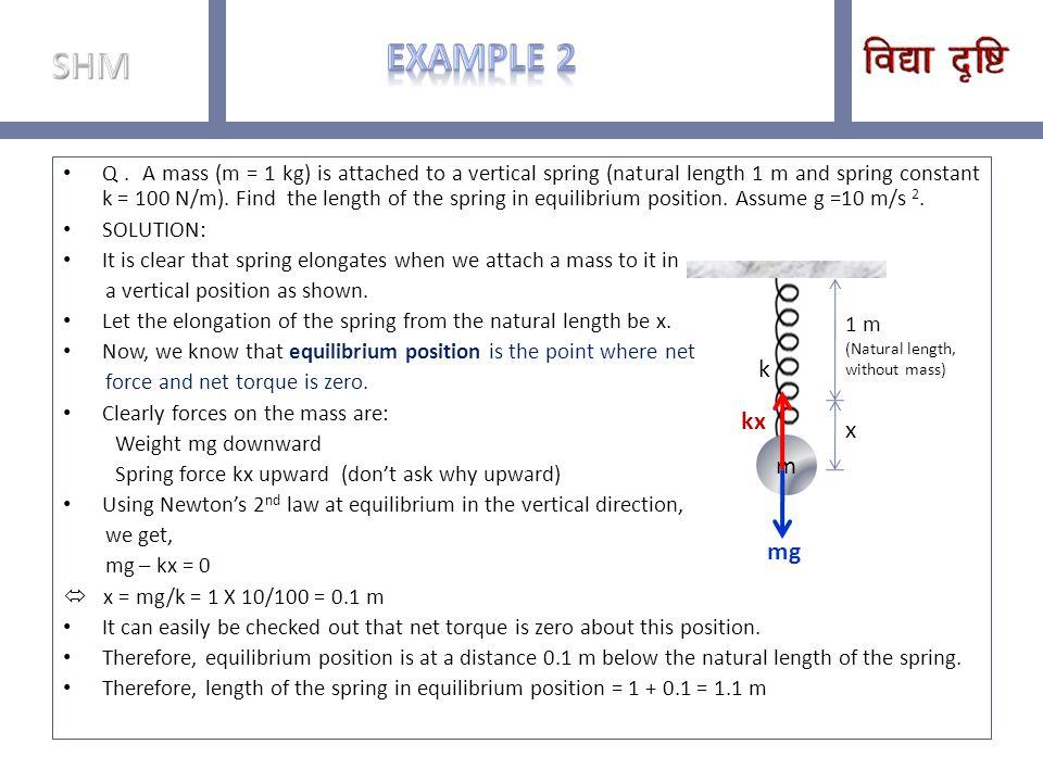 SHM Example 2.