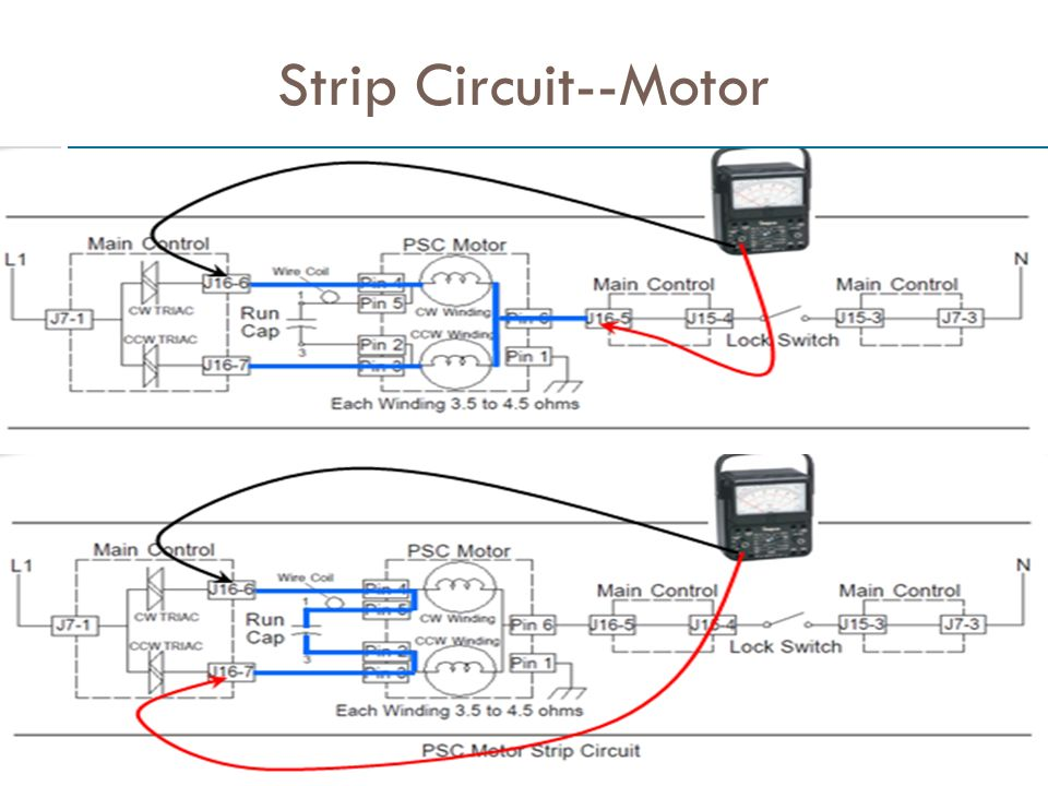Strip Circuit--Motor