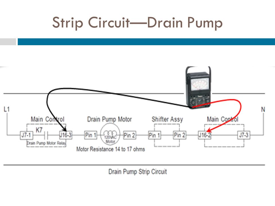 Strip Circuit—Drain Pump