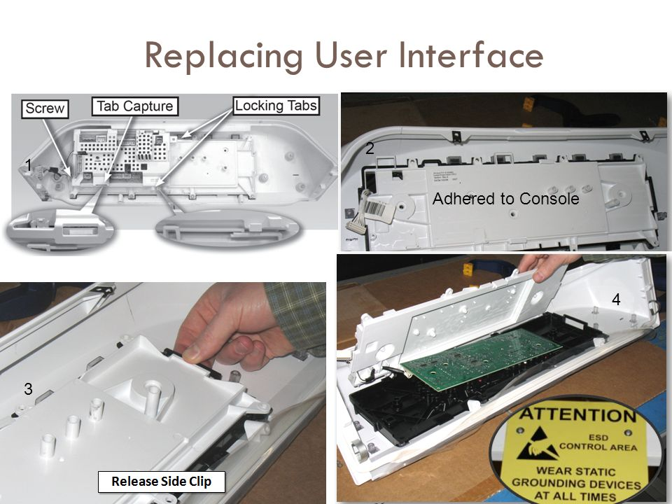 Replacing User Interface