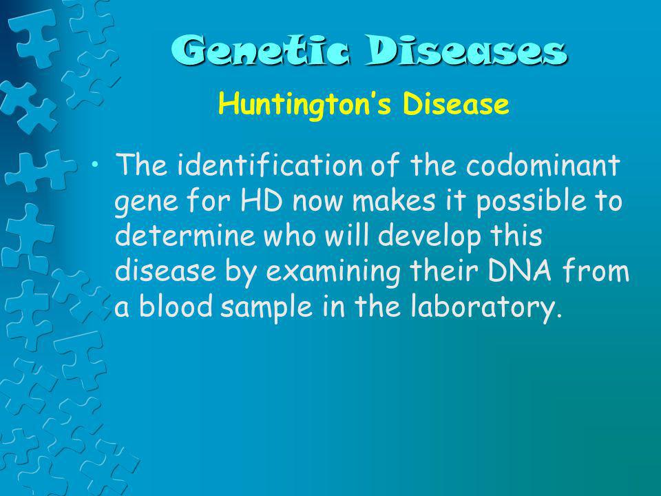 Genetic Diseases Huntington's Disease