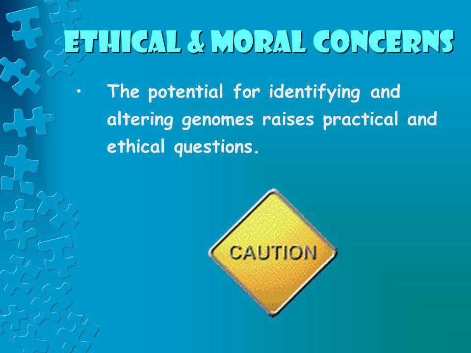 Ethical & Moral Concerns