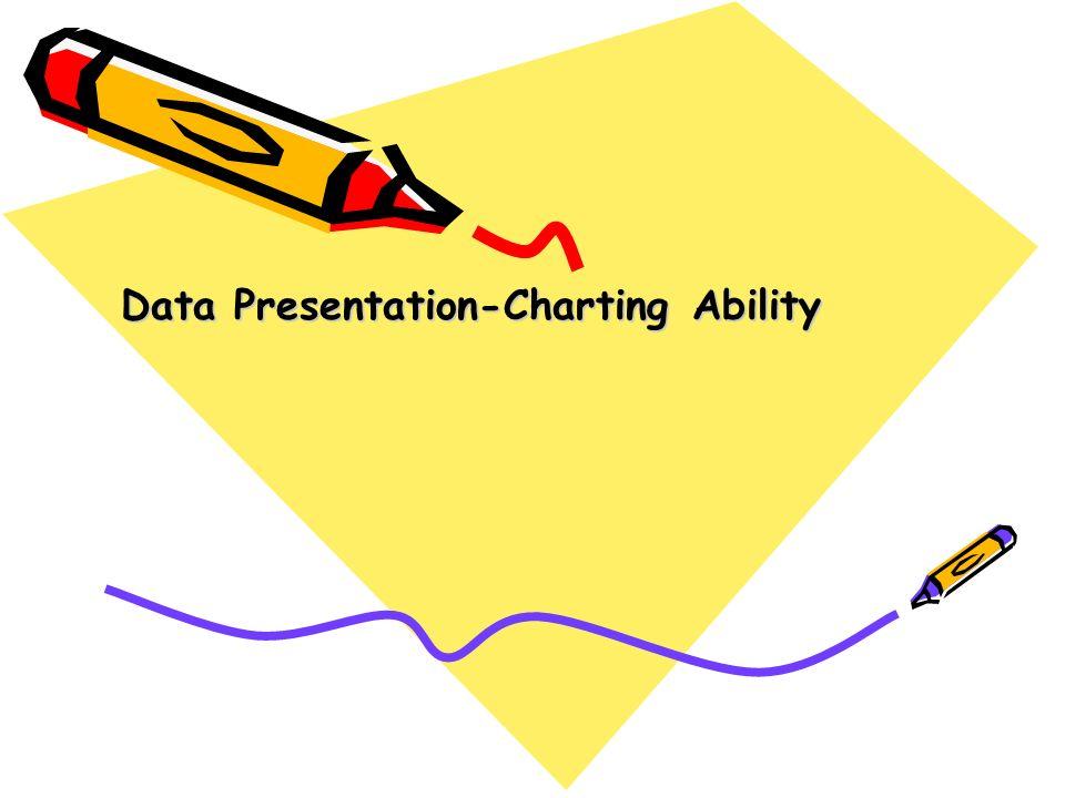 Data Presentation-Charting Ability