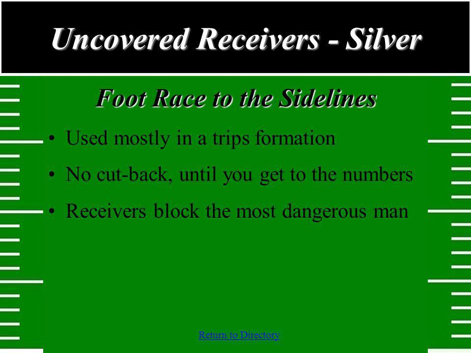 Uncovered Receivers - Silver