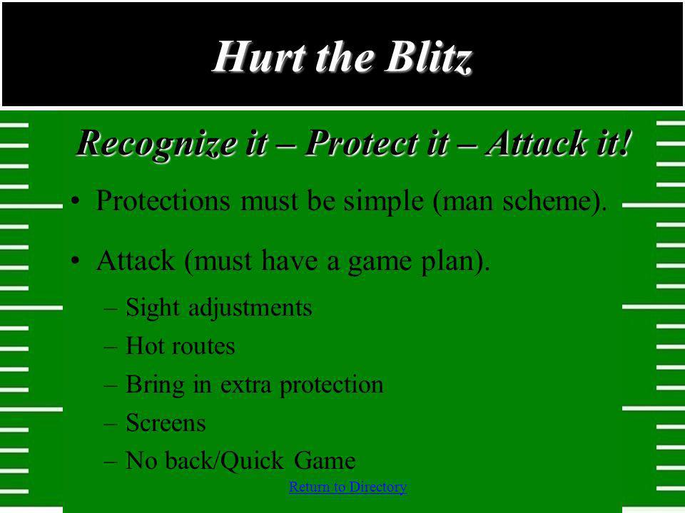 Recognize it – Protect it – Attack it!