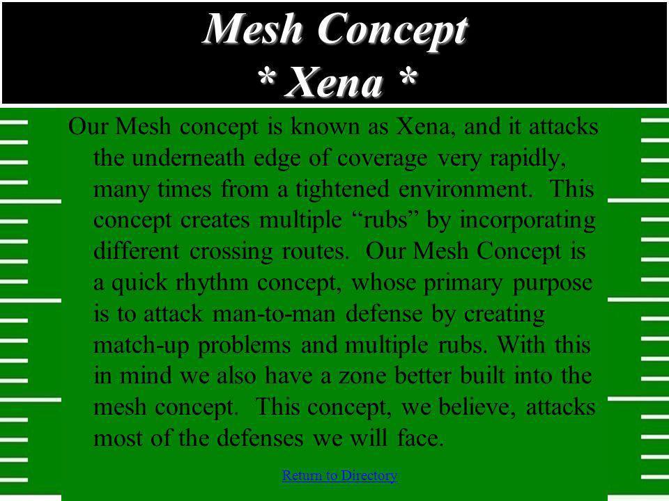 Mesh Concept * Xena *