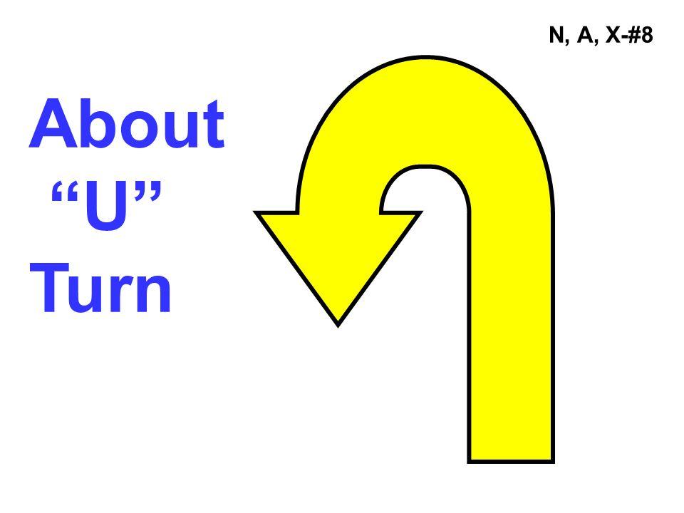 N, A, X-#8 About U Turn