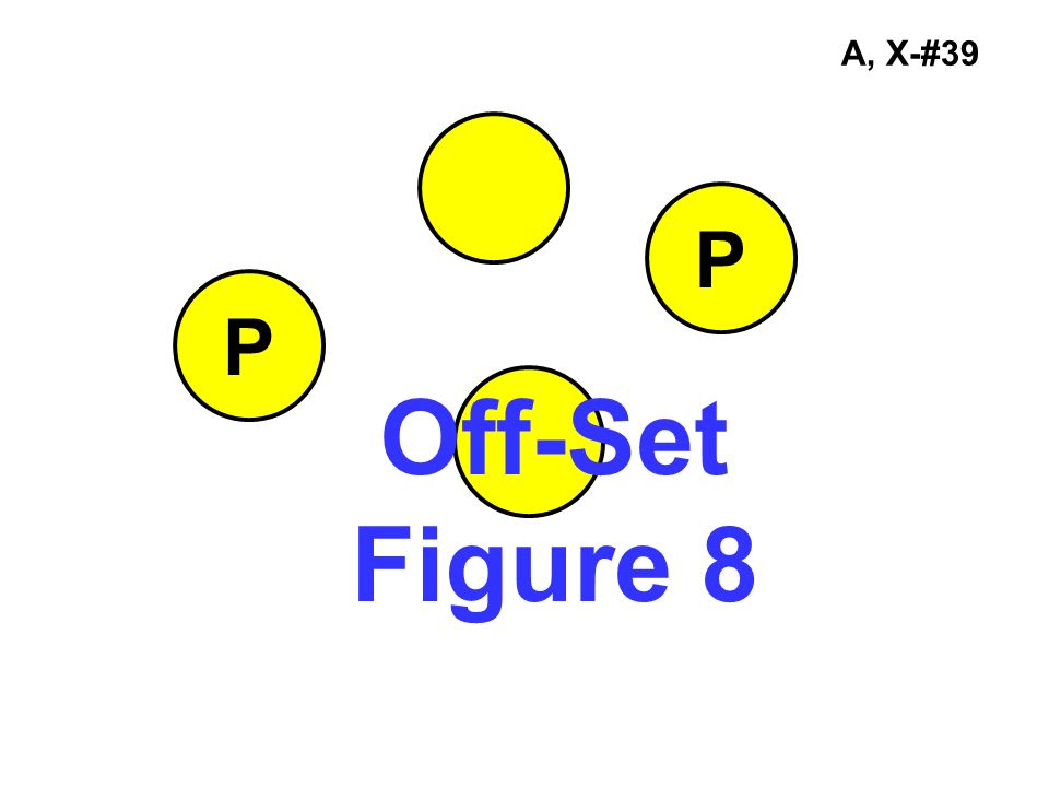 A, X-#39 P P Off-Set Figure 8