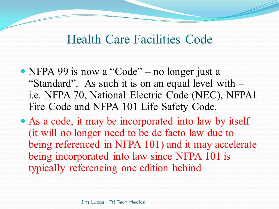 Health Care Facilities Code