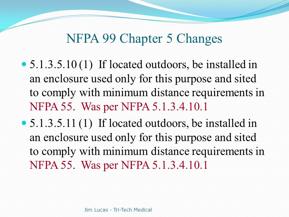 nfpa 99 changes 2005 to 2012 editions ppt download